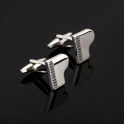 Manžetové knoflíčky s klavíry