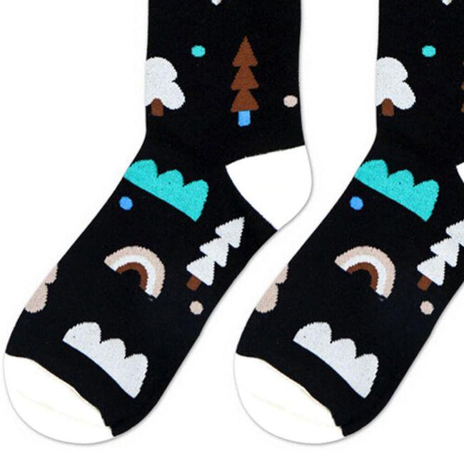 Színes férfi zokni - 3 változat
