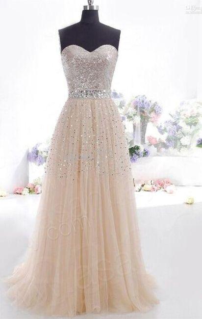 Długa sukienka wieczorowa bez ramiączek - 4 kolory 1