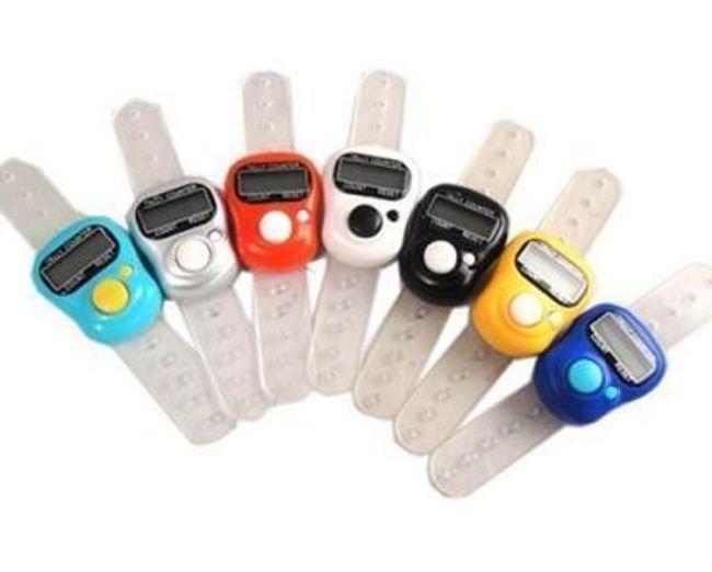Digitális mini-számláló ujjra 1