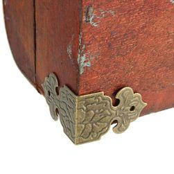 Železné chrániče rohů nábytku - 12 ks