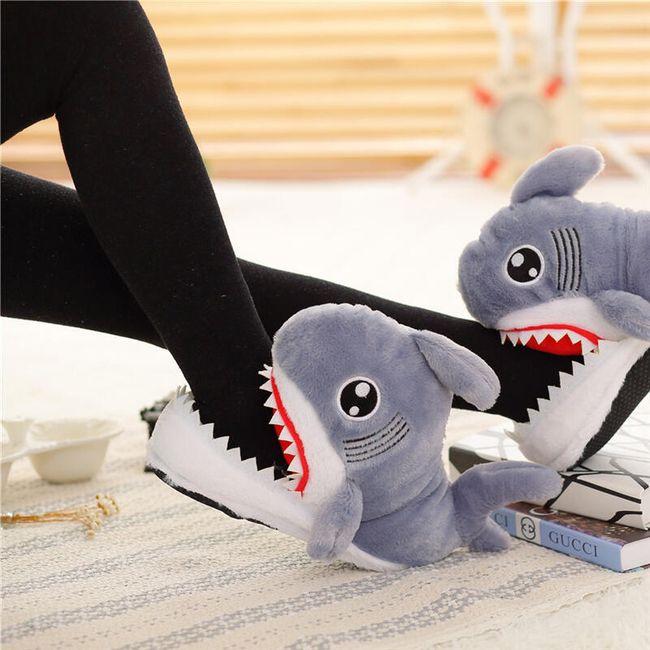 Žraločí přezůvky na doma i do školy 1