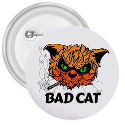 Przypinka Bad cat