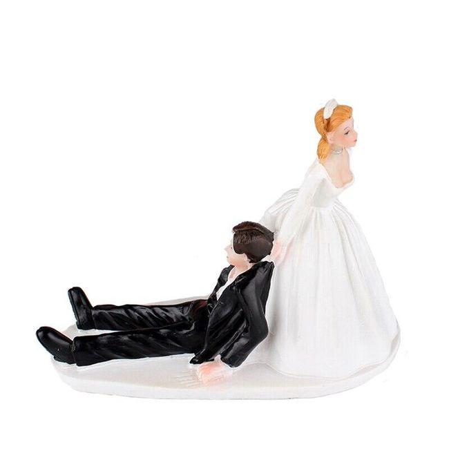 Postavičky na svatební dort B04727 1