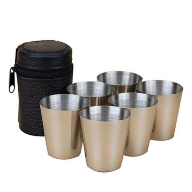 Set čašica za rakiju za put 1