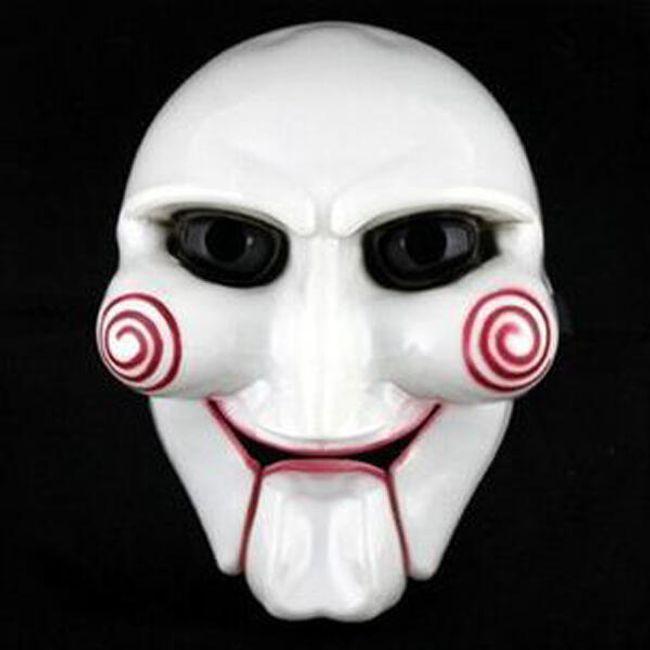 Karnevalska maska inspirisana horor filmom Saw 1