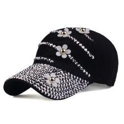 Damska czapka z daszkiem DK78