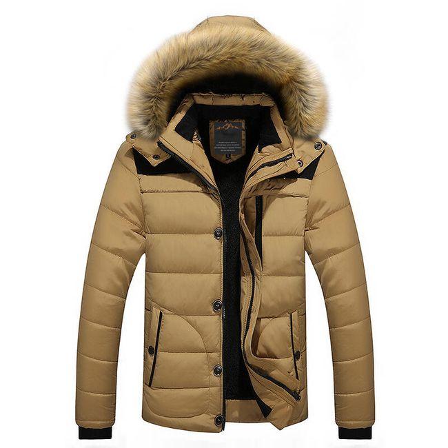 Muška zimska jakna Oliver - 4 boje 1