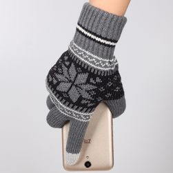 Unisex rukavice na dotykový telefon - 5 barev