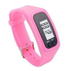 Zegarek LCD z krokomierzem - 3 kolory