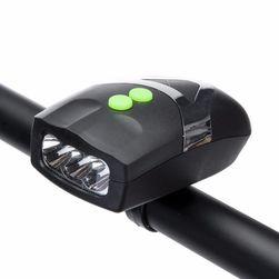 Универсальный светодиодный велосипедный фонарь с звонком
