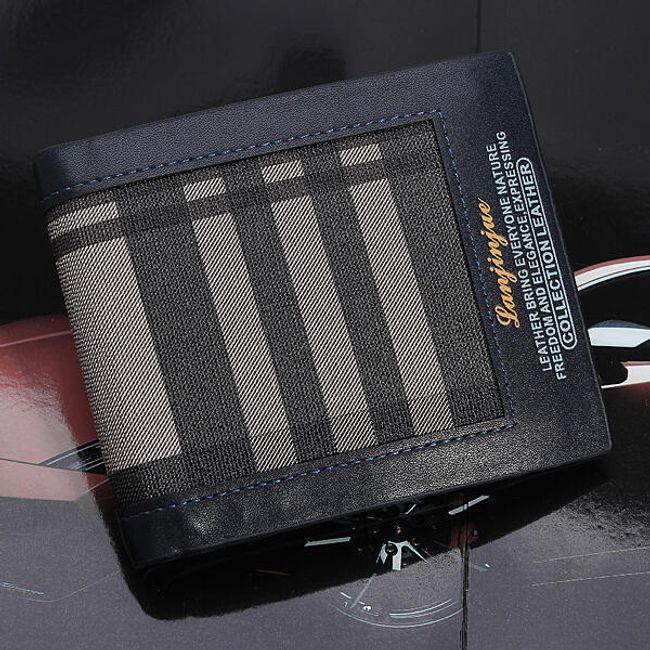 Pánská peněženka s pruhy 1
