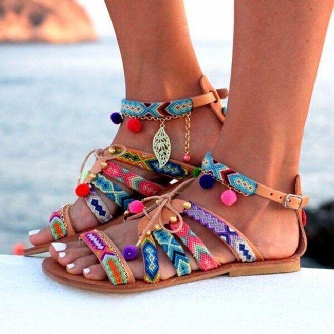 Damskie sandały Andia 1