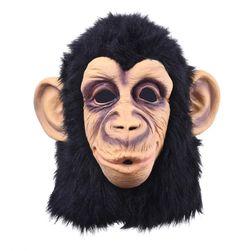 Maska w kształcie małpy