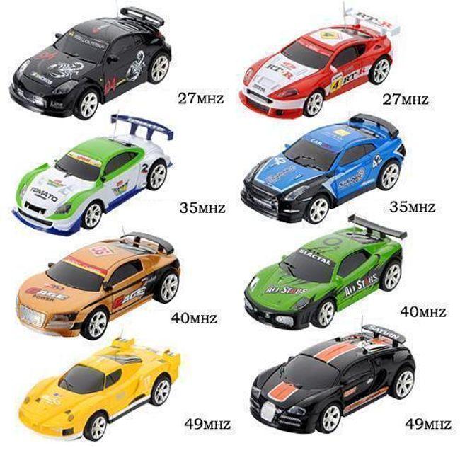 RC zdalnie sterowany samochód w puszce - do wyboru z 8 samochodów i 4 częstotliwości 1
