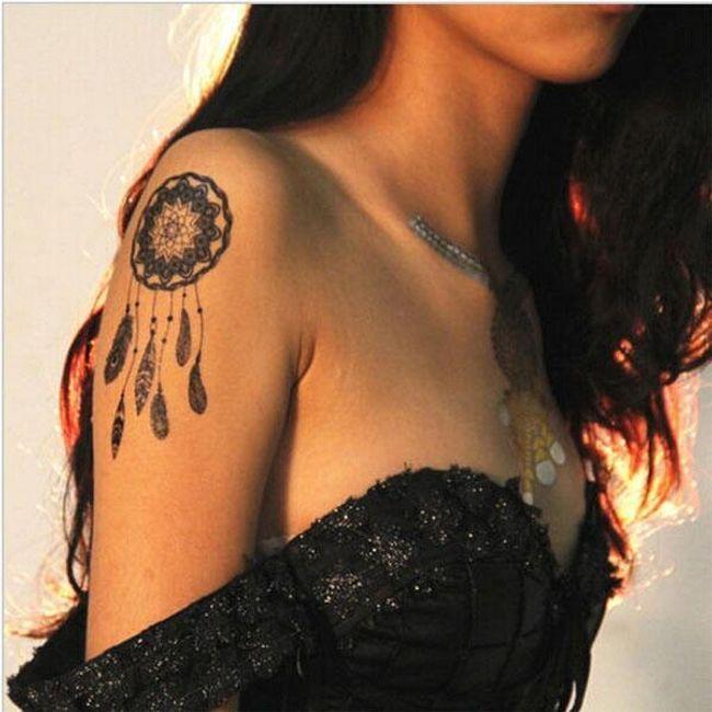 Začasne tetovaže - 8 različnih vzorcev 1