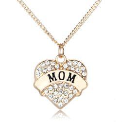 Colier cu inimioara - pentru mame