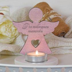 Anděl pro maminku svícen SR_1005973