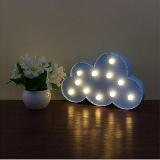 LED osvětlení - mrak 1