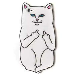 Силиконовый чехол для iphone 7 / 7P / 6/5/4 - с мотивом кошки