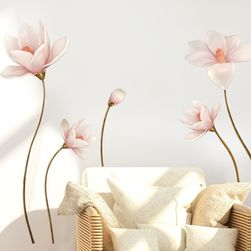 Samolepka na zeď - velké květy