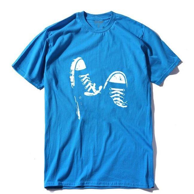 Męska koszulka z krótkim rękawem Parker 1