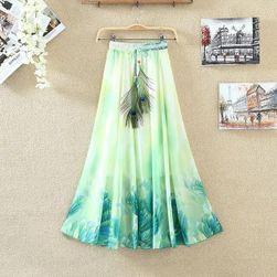 Lagana dugačka letnja suknja - 22 varijante