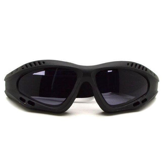 Sportovní brýle s tmavými skly - nejen pro motorkáře 1