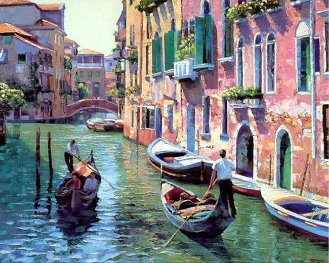 Slikanje po številkah - Benetke 1