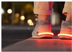 Lumină reflectorizantă pentru încălțăminte - diverse culori