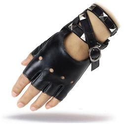 Dámské koženkové rukavice TF1266