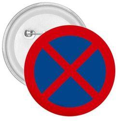 Placka Zákaz zastavení