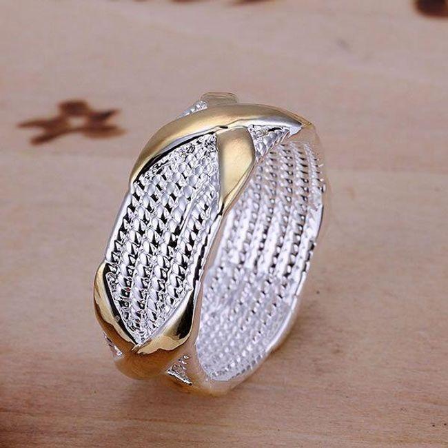 Dámský prsten - zajímavý design 1