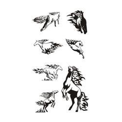 Ideiglenes tetoválások - vadlovak