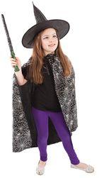 Dětský plášť s kloboukem čarodějnice/Halloween RZ_608214