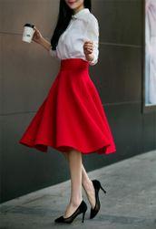 Women´s A-shaped skirt KO52