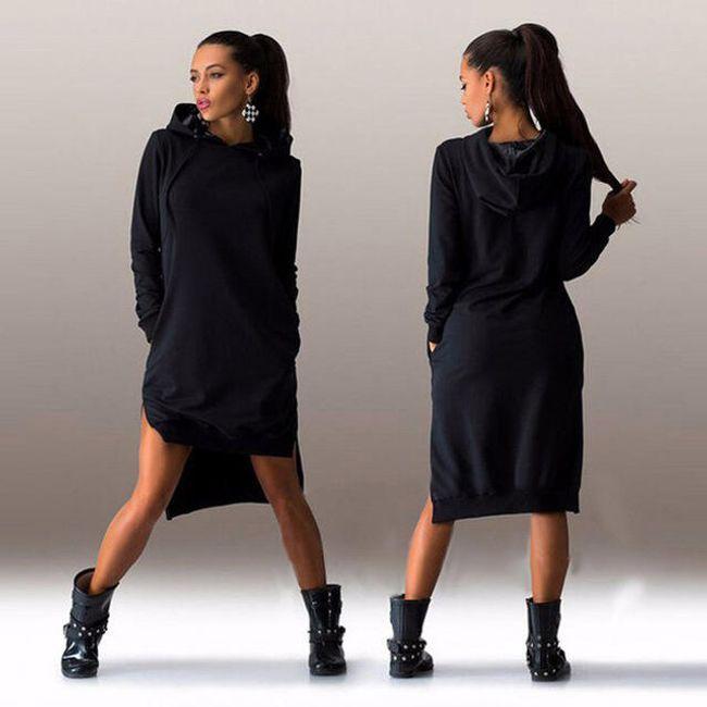 Ženska stilska dugačka dukserica - 2 boje 1