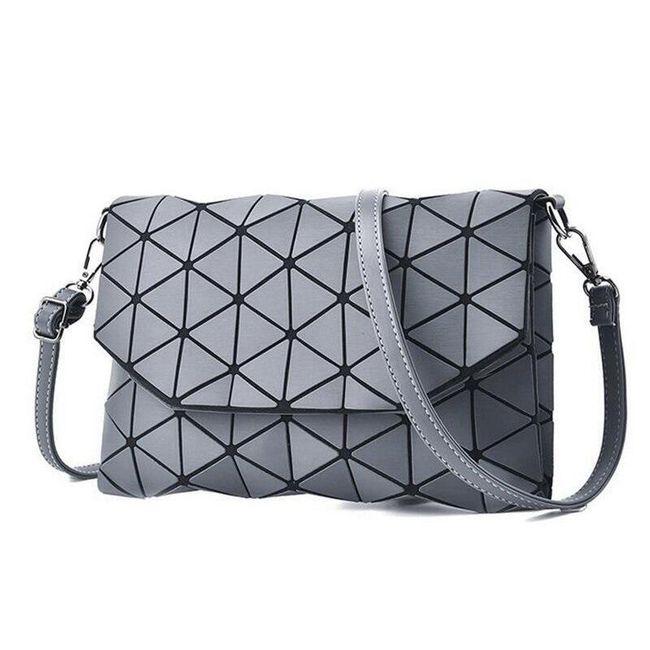 Модная сумка с треугольниками - разные цвета 1