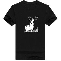 Tričko s jelenem - 8 barev