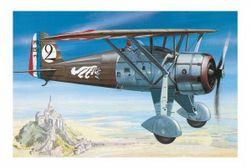 Modell Morane Saulnier MS 225 1:72 9,2x15,4cm dobozban 25x14,5x4,5 cm RM_48000838
