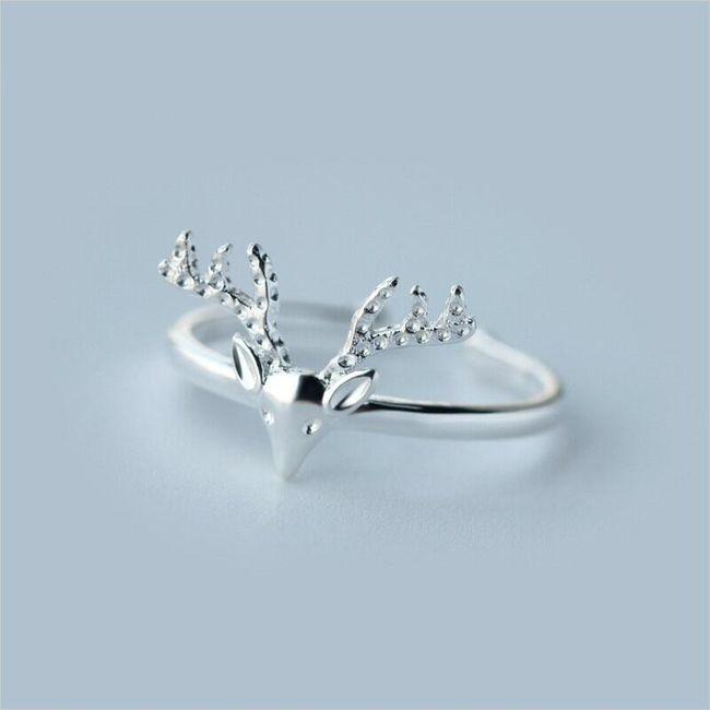 Damski pierścionek Leandra 1