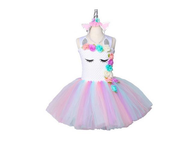 Haljina za devojke Unicorn 1