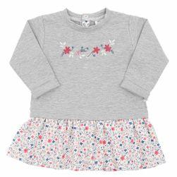 Dojčenské šatôčky s dlhým rukávom RW_saty-Gaja672