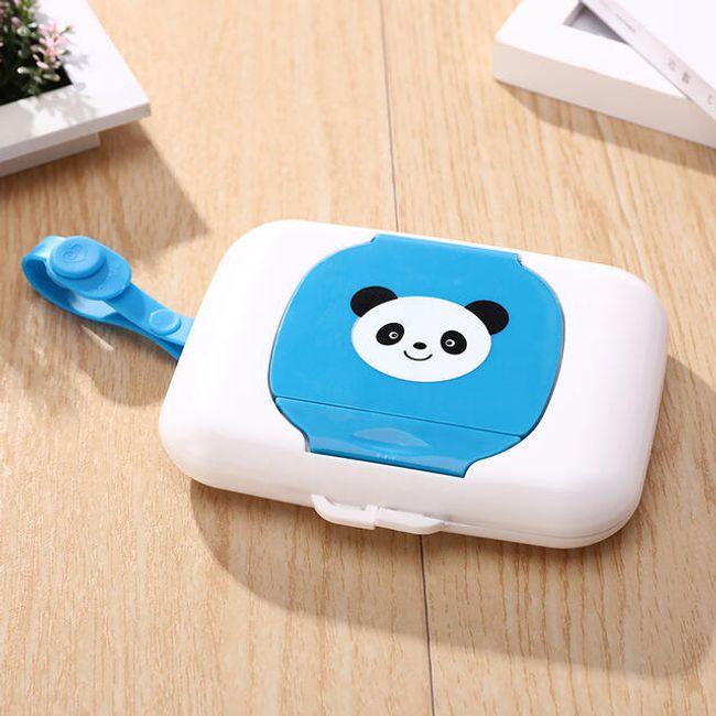 Krabička na kapesníky s pandou 1