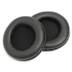 Wymienne osłony na słuchawki w kolorze czarnym
