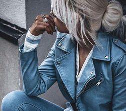Női műbőr kabát Chelsia
