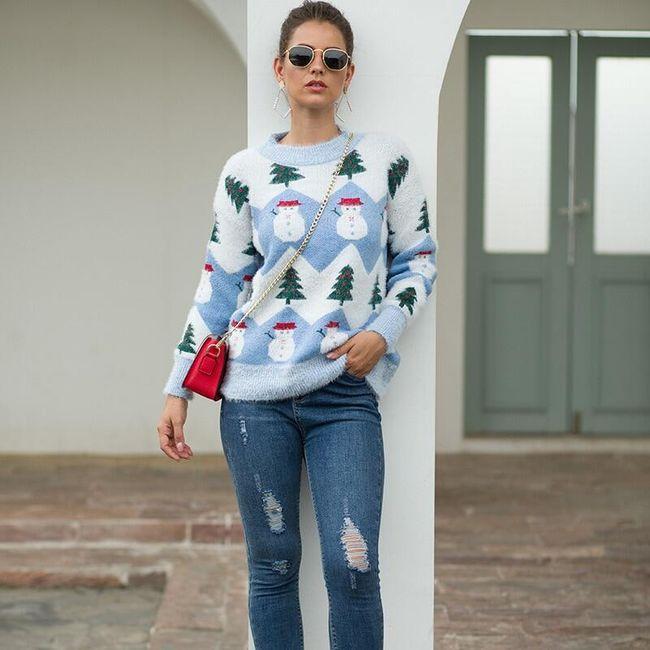 Damski sweter Wx4 1