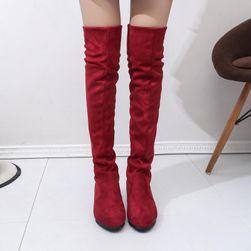 Buty damskie nad kolana - 5 kolorów