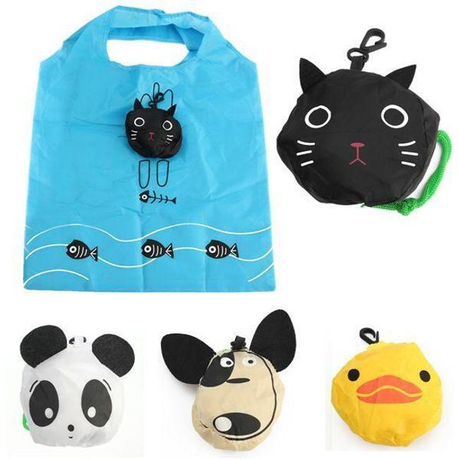 Складной мешок - различные мотивы животных 1