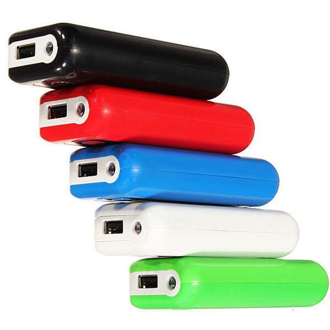 USB nabíjecí stanice 5600mAh - 5 barev 1